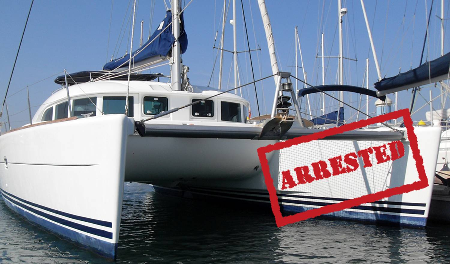 Yacht Arrest in Spain